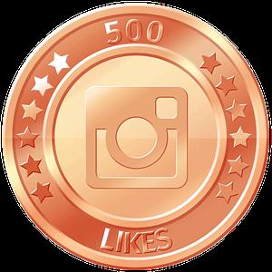 get 500 instagram likes