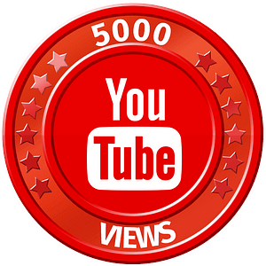 get 5000 youtube views