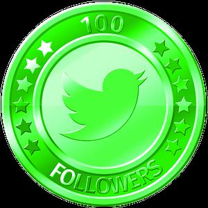 get 100 twitter followers