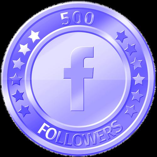 get 500 facebook followers