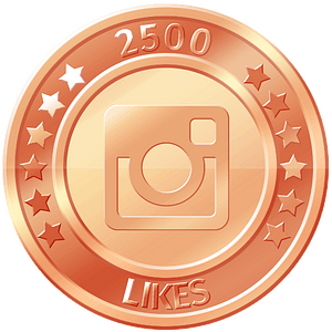 get 2500 instagram likes