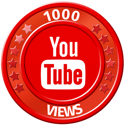 get 1000 youtube views