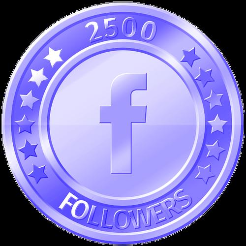 get 2500 facebook followers
