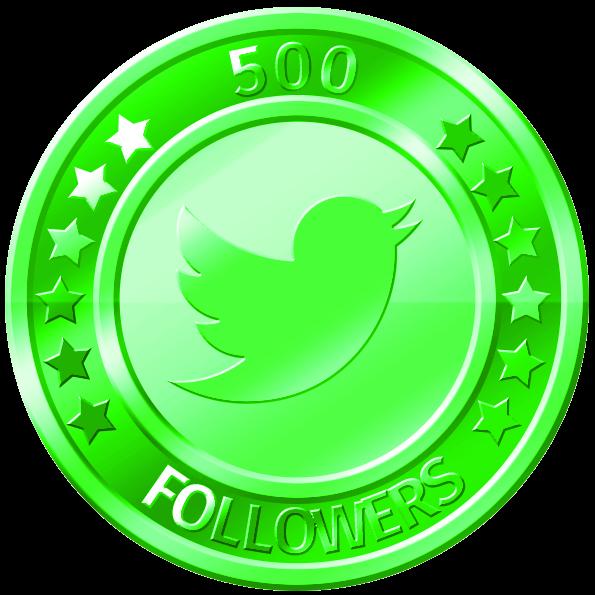get 500 twitter followers