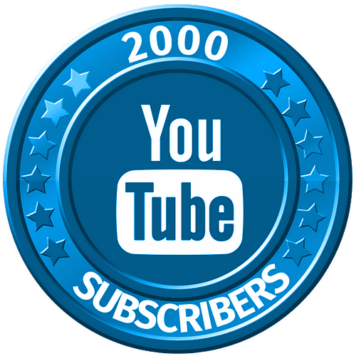 get 2000 youtube subscribers